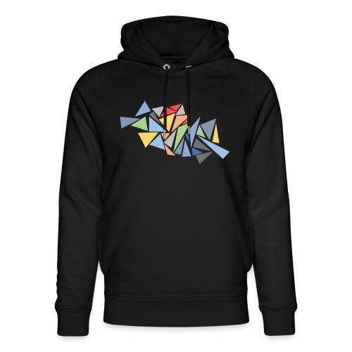 Modern Triangles - Unisex Organic Hoodie by Stanley & Stella