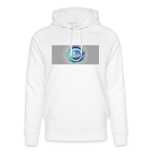 LOGO WITH BACKGROUND - Unisex Organic Hoodie by Stanley & Stella