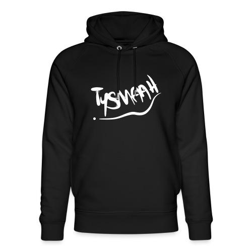 Logo blanc - TYSMAAH - Sweat à capuche bio Stanley & Stella unisexe
