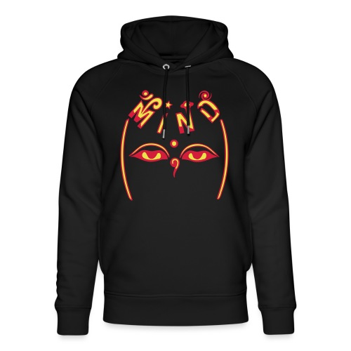 Mind of Buddha - Stanley & Stella unisex hoodie af økologisk bomuld
