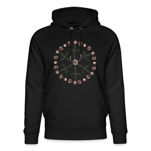 Winter Mandala Schneeflocke - Unisex Bio-Hoodie von Stanley & Stella