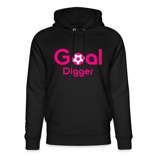 Goal Digger Pink - Unisex Organic Hoodie by Stanley & Stella