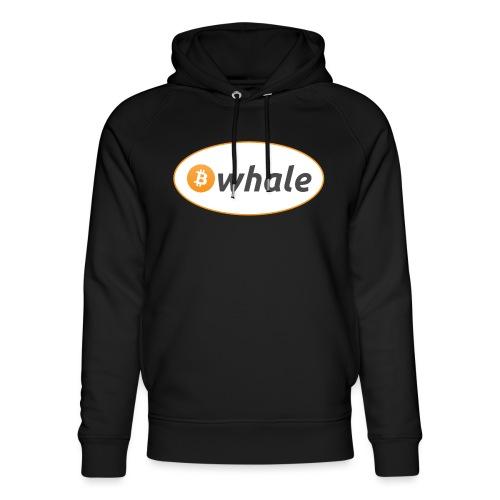 Bitcoin Whale - Unisex Organic Hoodie by Stanley & Stella