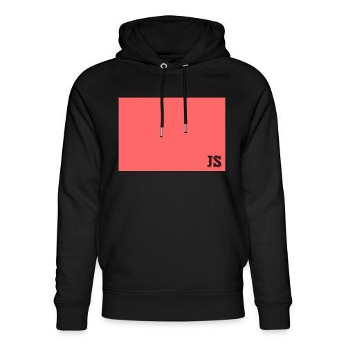 JustSquares Roze - Uniseks bio-hoodie van Stanley & Stella