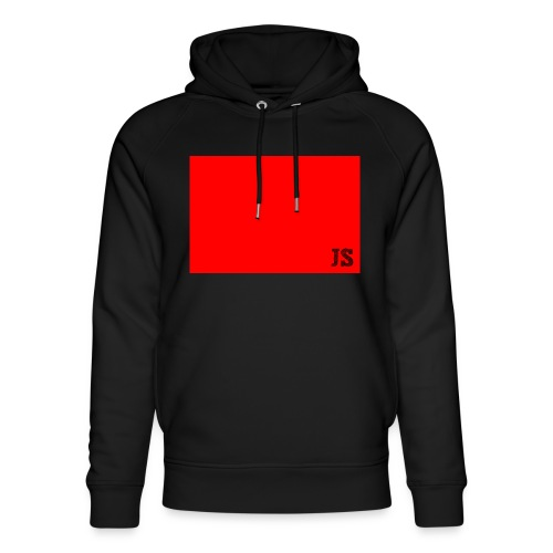 JustSquares Rood - Uniseks bio-hoodie van Stanley & Stella