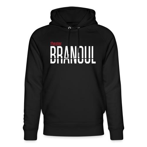 Branoul Logo rood wit - Uniseks bio-hoodie van Stanley & Stella