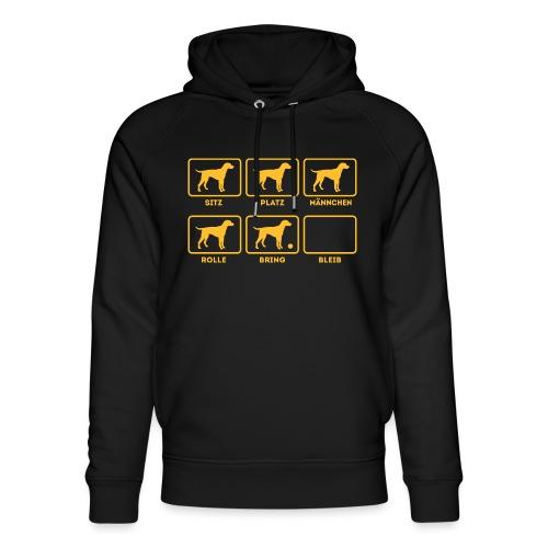 Für alle Hundebesitzer mit Humor - Unisex Bio-Hoodie von Stanley & Stella