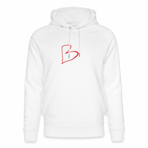 limited edition B - Unisex Organic Hoodie by Stanley & Stella