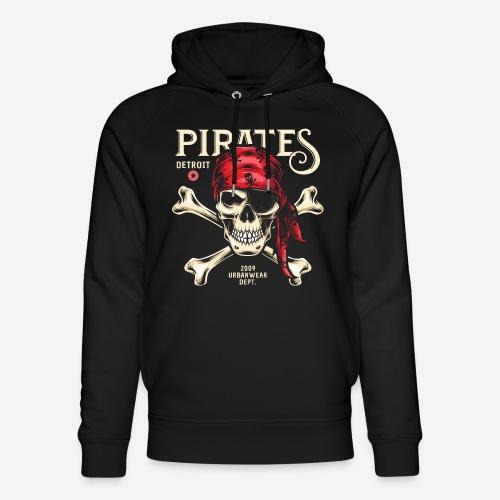 Piraten Urban Wear Sportswear - Unisex Bio-Hoodie von Stanley & Stella