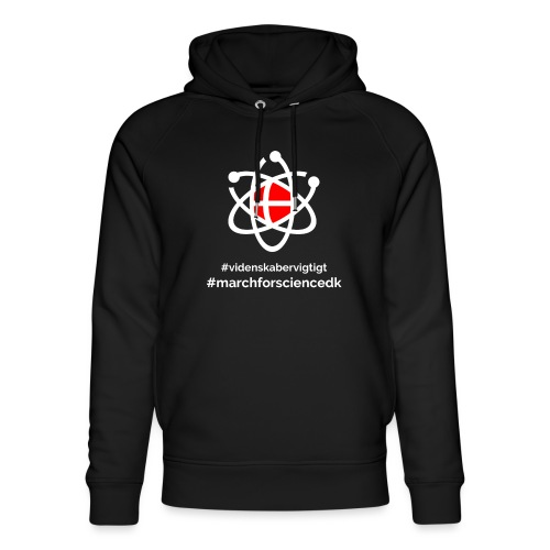 March for Science Danmark - Unisex Organic Hoodie by Stanley & Stella