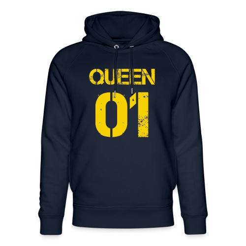 Queen - Ekologiczna bluza z kapturem typu unisex Stanley & Stella