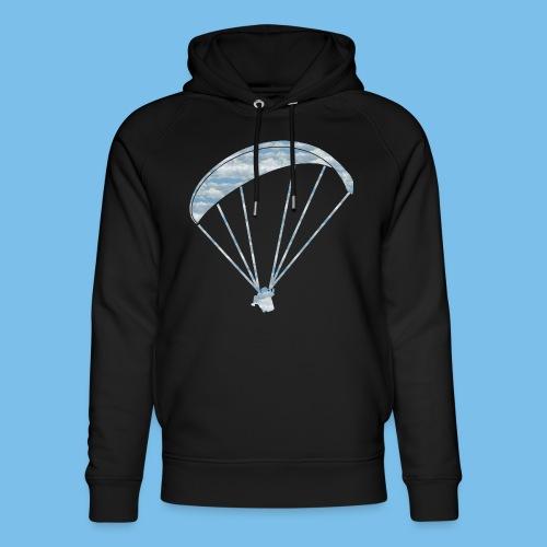 Gleitschirm Wolke Geschenk Paragliding - Unisex Bio-Hoodie von Stanley & Stella
