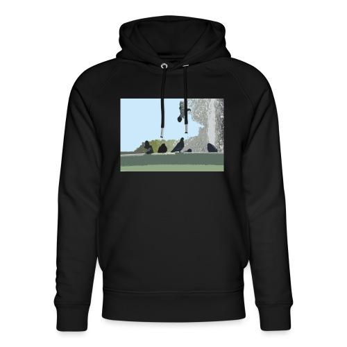 Chillin' pigeons - Uniseks bio-hoodie van Stanley & Stella