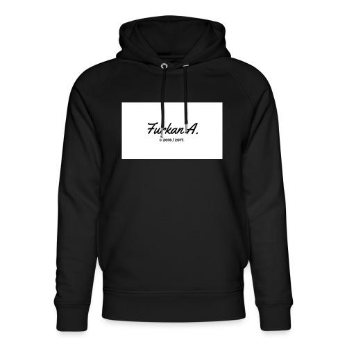 Furkan A - Zwarte sweater - Uniseks bio-hoodie van Stanley & Stella
