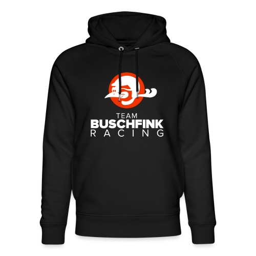 Team Buschfink Logo On Dark - Unisex Organic Hoodie by Stanley & Stella