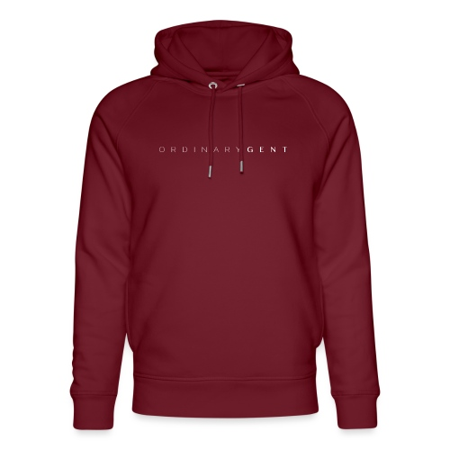 Ordinary Gent by Ordinary Chic Basics - Unisex Organic Hoodie by Stanley & Stella