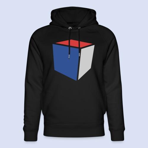 Cube Minimaliste - Sweat à capuche bio Stanley & Stella unisexe