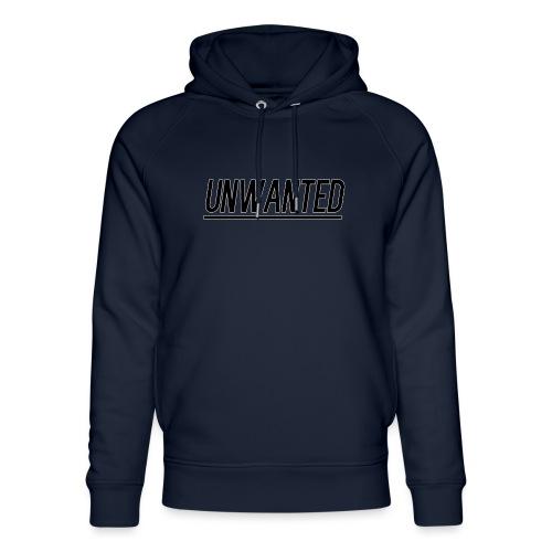 UNWANTED Logo Tee Black - Unisex Organic Hoodie by Stanley & Stella