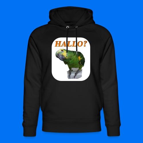 Hallo Papagei - Unisex Bio-Hoodie von Stanley & Stella