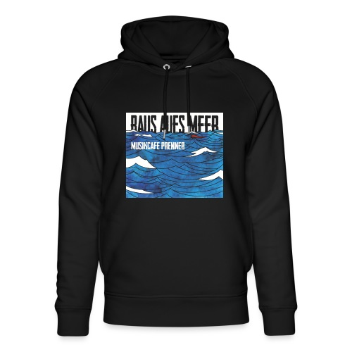Raus aufs Meer quadratisch - Unisex Bio-Hoodie von Stanley & Stella