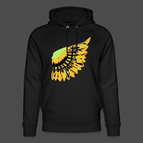 Owl Colour Redraw - Unisex Organic Hoodie by Stanley & Stella
