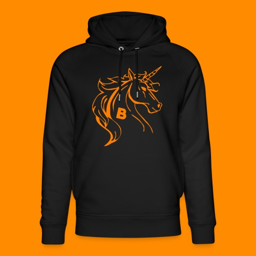 orange biodusty unicorn shirt - Uniseks bio-hoodie van Stanley & Stella
