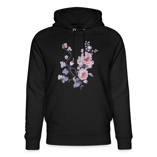 Schlichte Blumen - Unisex Bio-Hoodie von Stanley & Stella