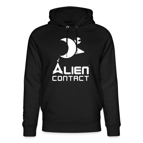 Alien Contact - Felpa con cappuccio ecologica unisex di Stanley & Stella