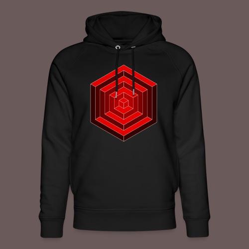 Hexagon Cube - Stanley & Stella unisex hoodie af økologisk bomuld
