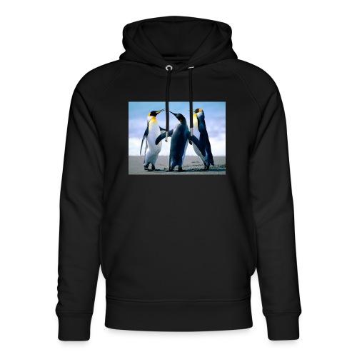 Penguins - Felpa con cappuccio ecologica unisex di Stanley & Stella
