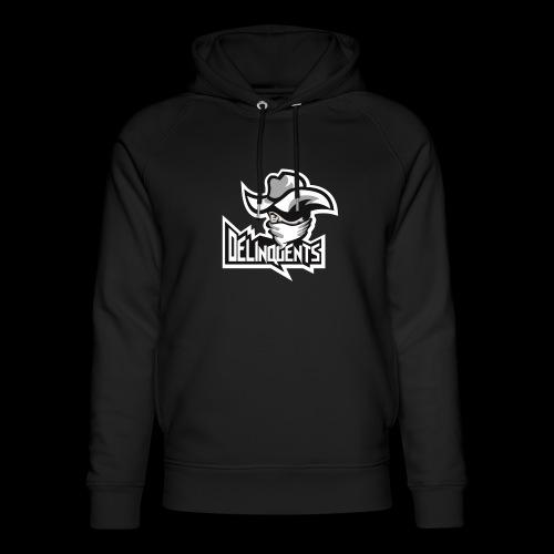 Delinquents Sort Design - Stanley & Stella unisex hoodie af økologisk bomuld