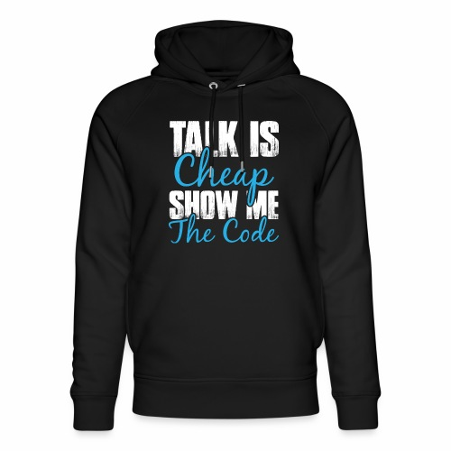Talk is Cheap - Unisex Bio-Hoodie von Stanley & Stella