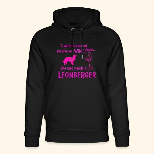 Wine&Leonberger - Ekologisk luvtröja unisex från Stanley & Stella