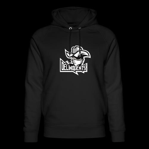 Delinquents Grå Design - Stanley & Stella unisex hoodie af økologisk bomuld