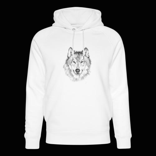 Wolf - Stanley & Stella unisex hoodie af økologisk bomuld