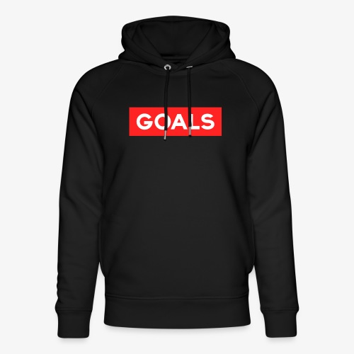 GOALS SQUARE BOX - Unisex Organic Hoodie by Stanley & Stella
