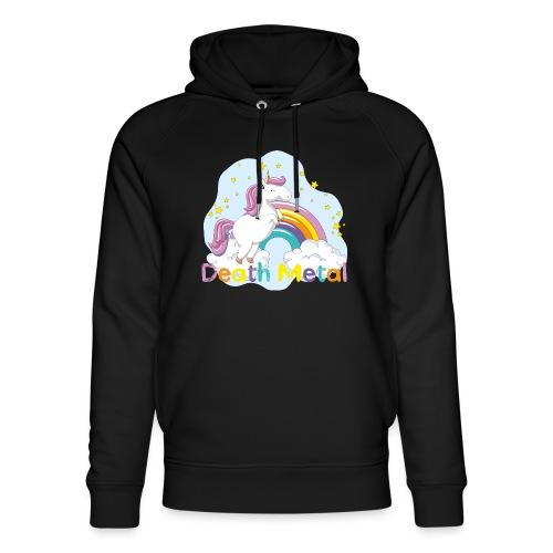unicorn death metal - Uniseks bio-hoodie van Stanley & Stella