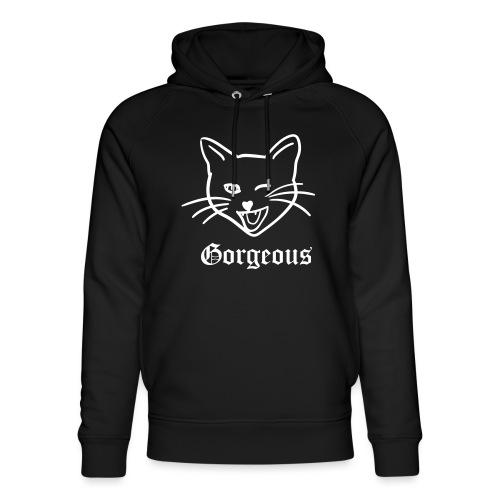 gorgeous cat - Uniseks bio-hoodie van Stanley & Stella