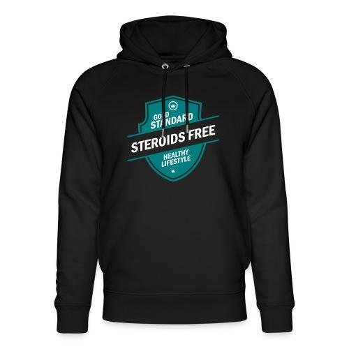 GoldStd-SteroidsFree-33 - Unisex Organic Hoodie by Stanley & Stella