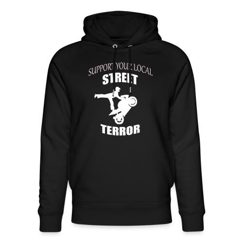 Streetterror Support - Stanley & Stellan unisex-luomuhuppari