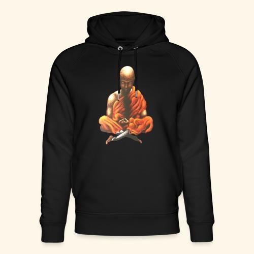 Yoga Meditation Spiritueller Buddhistischer Mönch - Unisex Bio-Hoodie von Stanley & Stella