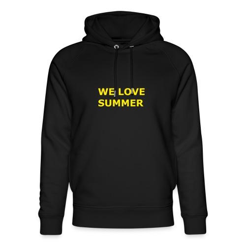 we love summer - Unisex Bio-Hoodie von Stanley & Stella