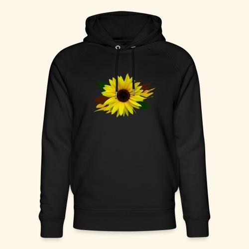 Sonnenblume, Sonnenblumen, Blume, floral, blumig - Unisex Bio-Hoodie von Stanley & Stella