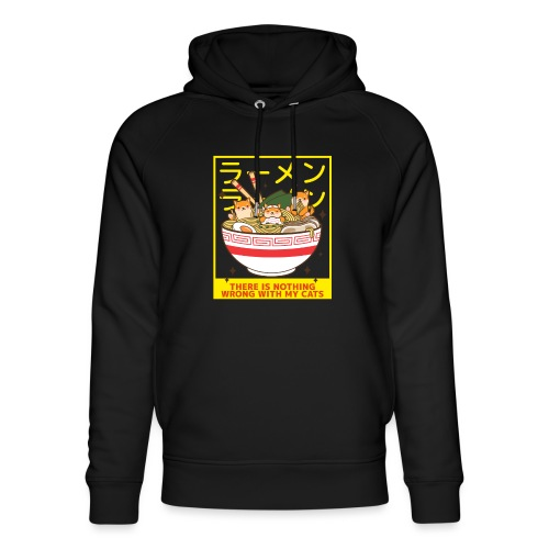 There is nothing wrong with my cats - Animal lover - Sweat à capuche bio Stanley & Stella unisexe
