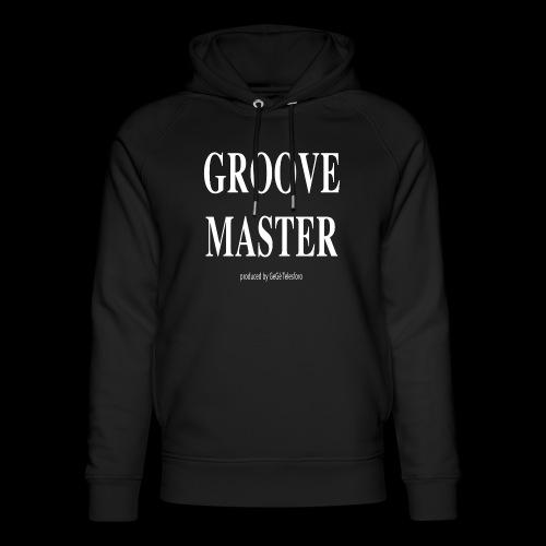 Groove Master bianco - Felpa con cappuccio ecologica unisex di Stanley & Stella