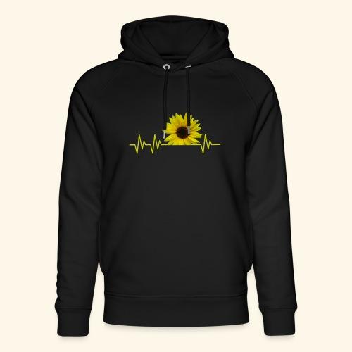 sunflowerbeat - zauberhafte Sonnenblume - Unisex Bio-Hoodie von Stanley & Stella