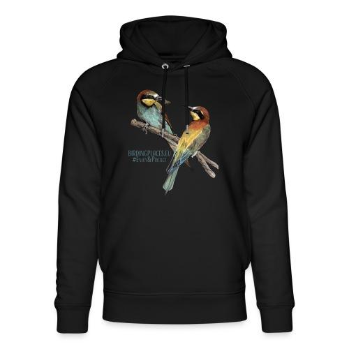 Bee-eaters Birdingplaces - Unisex Organic Hoodie by Stanley & Stella