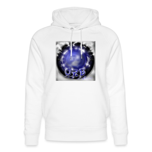 Hyperspace potato Blue Orb - Unisex Organic Hoodie by Stanley & Stella