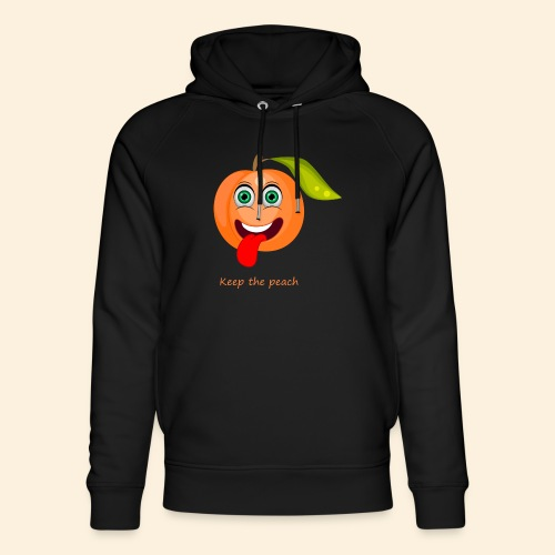 Whoua keep the peach - Sweat à capuche bio Stanley & Stella unisexe