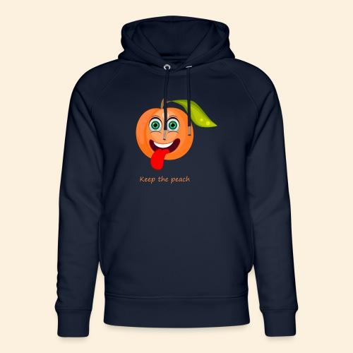 Whoua keep the peach - Sweat à capuche bio Stanley & Stella unisexe
